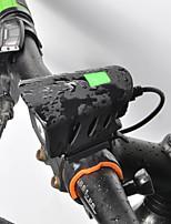 Недорогие -Светодиодная лампа Велосипедные фары Передняя фара для велосипеда LED Велоспорт Быстросъемный Литий-полимерная Литий-ионная аккумуляторная батарея 1000 lm Перезаряжаемая батарея Белый / IPX 6