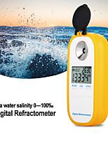 Недорогие -dr202 цифровой рефрактометр для измерения морской воды соленомер морской воды диапазон удельного веса 0100 хлорность 057 рефрактометр