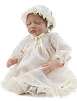 Недорогие -NPK DOLL Куклы реборн Куклы Девочки 22 дюймовый Безопасность Подарок Очаровательный Детские Универсальные Игрушки Подарок