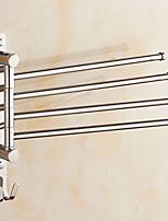 Недорогие -Держатель для полотенец Многослойный Modern Нержавеющая сталь 4-полосная доска