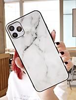 cheap -Case For Huawei p30 p30pro mate20 mate20pro nova3 nova4 honor20  Pattern Back Cover Marble TPU Tempered Glass