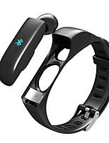 Недорогие -Dtb01 смарт-браслет Bluetooth трекер фитнес&поддержка беспроводных наушников уведомление / совместимый монитор сердечного ритма Samsung / Iphone / Android телефонов