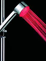 Недорогие -Современный Ручная душевая лейка Хром Особенность - Дождевая лейка / Творчество / Новый дизайн, Душевая головка