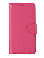 cheap -Case For Asus Asus Zenfone 4 MAX ZC554KL ZB633KL 4 selfieZD552KL ZB631KL zenfone5 ze620kl ZS620KL Card Holder Flip Magnetic Full Body Cases Solid Colored PU Leather TPU textured