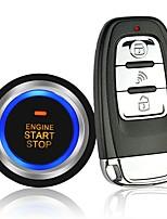 Недорогие -12v общая автомобильная противоугонная система дистанционный запуск пульт дистанционного управления без ключа введите pke один ключ запуска