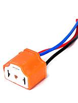 Недорогие -2 шт. Женский керамический удлинитель фары разъем разъем проводной адаптер для 12 В лампочки