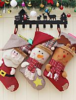 Недорогие -новогоднее украшение носок подарочная сумка новогоднее украшение фестиваль креативные декоративные носки кулон