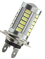 Недорогие -1 шт. H7 5630 33 smd белый светодиодный автомобильный объектив drl противотуманная фара