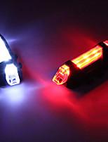 Недорогие -Светодиодная лампа Велосипедные фары Задняя подсветка на велосипед огни безопасности LED Велоспорт LED Перезаряжаемая батарея * Перезаряжаемая батарея Белый Красный Синий Велосипедный спорт