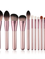 cheap -12 Pcs Small Grape Makeup Brushes Set for Beginners Small Grape Makeup Brush Set Beauty Tools Makeup Brushes