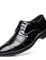 Недорогие -Муж. Официальная обувь Кожа Весна лето / Наступила зима Английский Туфли на шнуровке Нескользкий Черный / Для вечеринки / ужина