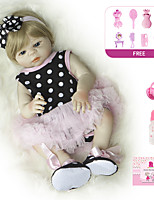 cheap -Reborn Doll Baby Girl 20 inch Full Body Silicone - Kids / Teen Kid's Unisex Toy Gift