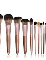 Недорогие -профессиональный Кисти для макияжа 12шт Новый дизайн Sexy Lady Деревянные / бамбуковые за Косметическая кисточка