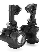 Недорогие -Второе поколение мотоцикла светодиодные вспомогательные автомобильные противотуманные фары из алюминиевого сплава безопасности вождения прожектор для bmw r1200gs adv f800g