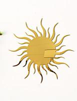 cheap -Sun Flower Shapes Wall Stickers Mirror Wall Stickers Decorative Wall Stickers, Acrylic Home Decoration Wall Decal Wall Decoration 1pc