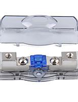 Недорогие -mini anl 4/8 ga in-4/8 ga out держатель предохранителя (встроенный 60a предохранитель)
