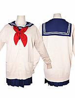 Недорогие -Вдохновлен My Hero Academia Boko No Hero Косплей Аниме Косплэй костюмы Японский Косплей Костюмы Кофты / Юбки / Носки Назначение Жен.
