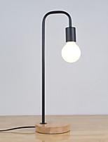 Недорогие -простой / современный современный новый дизайн / декоративная настольная лампа / настольная лампа / лампа для чтения для спальни / кабинета / для офиса металл 85-265v черный