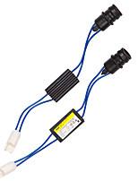 Недорогие -2 шт. / Лот t10 w5w canbus без предупреждения об ошибке компенсатор декодер автомобиля светодиодный резистор нагрузки не мерцающий декодер 12 В