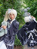 Недорогие -Вдохновлен Йосуга-но-Сора Касугано Сора Аниме Косплэй костюмы Японский Косплей Костюмы Носки / Корсеты / лук Назначение Жен. / кимоно Пальто / Пояс на талию / Пояс / лента