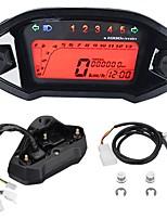 Недорогие -универсальный мотоцикл жк-цифровой спидометр тахометр одометр подсветка