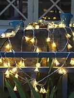 Недорогие -3 м рождественский колокольчик огни 20 светодиодов теплый белый / RGB / белый / рождественский ночной свет / вечеринка / декоративные / AAA на батарейках 1 комплект