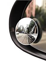 Недорогие -Автомобильное зеркало 360 широкоугольный круглый выпуклый автомобиль зеркало автомобиля боковое бронированное слепое пятно маленькое зеркало круглое зеркало заднего вида