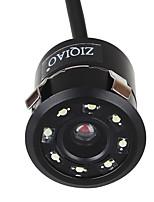 Недорогие -Ziqiao универсальный 8 светодиодных HD ночного видения 18,5 мм автомобильная камера заднего вида 170-градусная резервная камера заднего вида