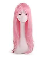 Недорогие -Косплей Принцесса Косплэй парики Жен. 24 дюймовый Синтетика Розовый Розовый Аниме