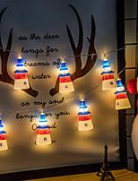 Недорогие -Brelong 1.5 м 10led струнные светильники крытый свет строки украшения маяк из светодиодов фея свет 1 шт