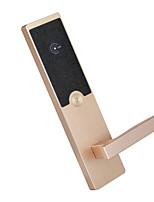 Недорогие -Factory OEM L2206RF Нержавеющая сталь Блокировка карты Умная домашняя безопасность Android система RFID Гостиница Деревянная дверь (Режим разблокировки Сумки для карточек)