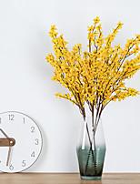 Недорогие -Искусственные Цветы 1 Филиал Классический Деревня европейский Орхидеи Букеты на стол