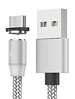 Недорогие -магнитный тип-c быстрая зарядка типа c кабель-магнит зарядное устройство для передачи данных микро мобильный телефон