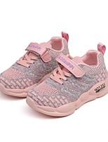 Недорогие -Девочки Удобная обувь Flyknit Спортивная обувь Маленькие дети (4-7 лет) Беговая обувь Лиловый / Пурпурный / Розовый Осень