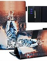 Недорогие -Кейс для Назначение Amazon Kindle Paperwhite 2018 Кошелек / Бумажник для карт / С узором Чехол Животное Кожа PU / ТПУ