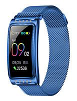 Недорогие -Kupeng F28 Смарт-браслет Bluetooth из нержавеющей стали Фитнес-трекер Поддержка уведомлять / монитор сердечного ритма Спорт водонепроницаемый SmartWatch совместимые телефоны Samsung / Iphone / Android