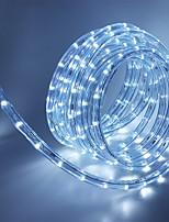 Недорогие -5 метров Гибкие светодиодные ленты 180 светодиоды Тёплый белый / Белый / Красный Декоративная / Праздник / ТВ-фон 85-265 V 1 комплект