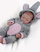 Недорогие -NPK DOLL Куклы реборн Куклы Мальчики Девочки 10 дюймовый Силикон - Безопасность Подарок Очаровательный Детские Универсальные / Девочки Игрушки Подарок
