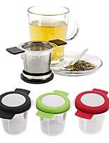 Недорогие -сетка для заварки чая из нержавеющей стали многоразовая ситечко для чая с ручками и фильтрами