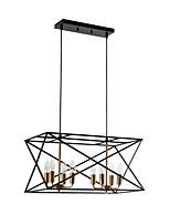 Недорогие -8-Light Спутник Подвесные лампы Рассеянное освещение Окрашенные отделки Металл Творчество, Расширенный 110-120Вольт / 220-240Вольт