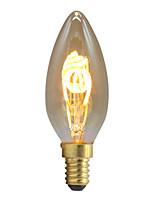 Недорогие -1шт 2 W LED лампы накаливания 1 lm E26 / E27 000 Светодиодные бусины Мягкая нить Тёплый белый 220-240 V
