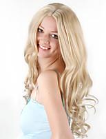 Недорогие -Косплей Принцесса Косплэй парики Жен. 24 дюймовый Синтетика Золотистый Золотой Аниме