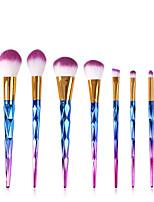 Недорогие -профессиональный Кисти для макияжа 7pcs Очаровательный Мягкость Новый дизайн удобный Алюминиевый сплав 7005 за Косметическая кисточка