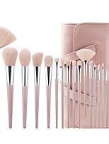 Недорогие -профессиональный Кисти для макияжа 18pcs Очаровательный Мягкость Новый дизайн удобный Деревянные / бамбуковые за Косметическая кисточка