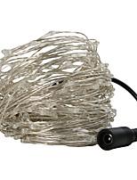 Недорогие -30m Гирлянды 300 светодиоды Тёплый белый / Разные цвета Для вечеринок / Декоративная / Свадьба 100-240 V 1шт