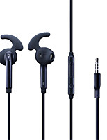 cheap -S7 Earphone 3.5mm Wired Headset Mic Remote Volume Control Stereo sport Earbud for Samsung Galaxy