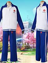 Недорогие -Вдохновлен Косплей Косплей / студент / Школьная форма Аниме Косплэй костюмы Японский Школьная форма Пальто / Брюки Назначение Муж. / Жен.
