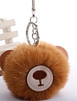 Недорогие -Брелок Медведи корейский Милая Мода Модные кольца Бижутерия Черный / Коричневый / Белый Назначение Подарок Повседневные