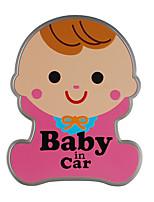 Недорогие -милый ребенок предупреждение наклейки автомобиля ребенка в машине светоотражающие наклейки магнитные наклейки водонепроницаемый и прочный хорошее качество автомобиля