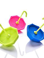Недорогие -силикагель Heatproof обожаемый Креатив Круглый Зонт 1шт Инструменты Фильтры Ситечко для чая